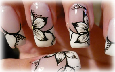 disegni per unghie in gel