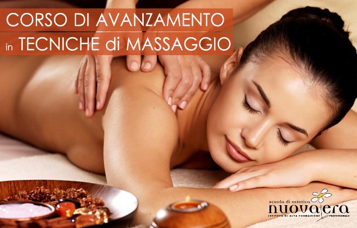 corso tecniche di massaggio
